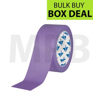 "Deltec Purple Masking Tape Delicate 2"" Box Of 24"