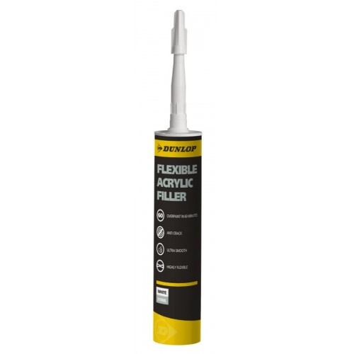 Dunlop Flexible Acrylic Filler 310ml  (Single)