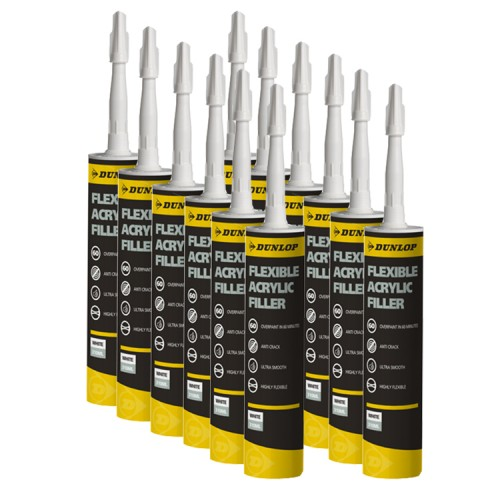 Dunlop Flexible Acrylic Filler 310ml (Case Of 12)