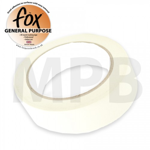 "The Fox General Purpose Masking Tape 2"" / 50mm"