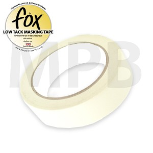 """The Fox Low Tack Masking Tape 1.5"""" / 38mm"""