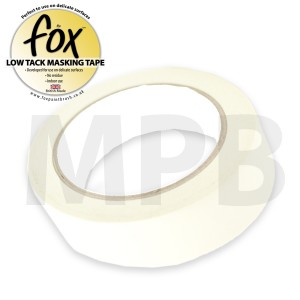 """The Fox Low Tack Masking Tape 2"""" / 50mm"""
