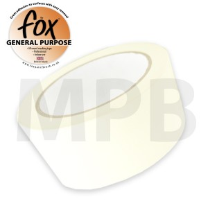 "The Fox General Purpose Masking Tape 3"" / 75mm"
