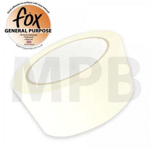 "The Fox General Purpose Masking Tape 3"" / 75mm"