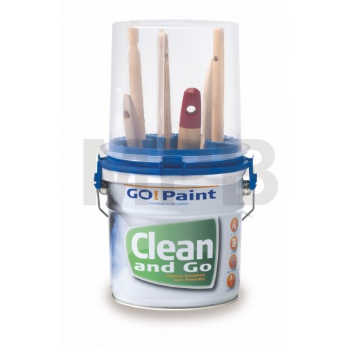 Go! Paint Clean and Go Brush Cleaning System