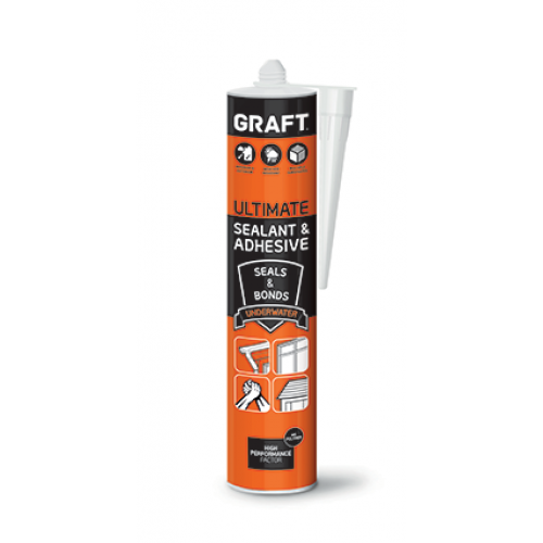 Graft MS Polymer Sealant White 290ml