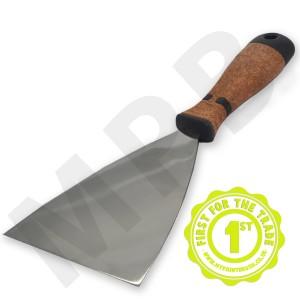 "Hartwig Stainless Steel 5"" Scraper - Cork Handle"