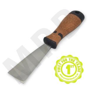 "Hartwig Stainless Steel 1.5"" Scraper - Cork Handle"