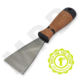 "Hartwig Stainless Steel 2"" Scraper - Cork Handle"