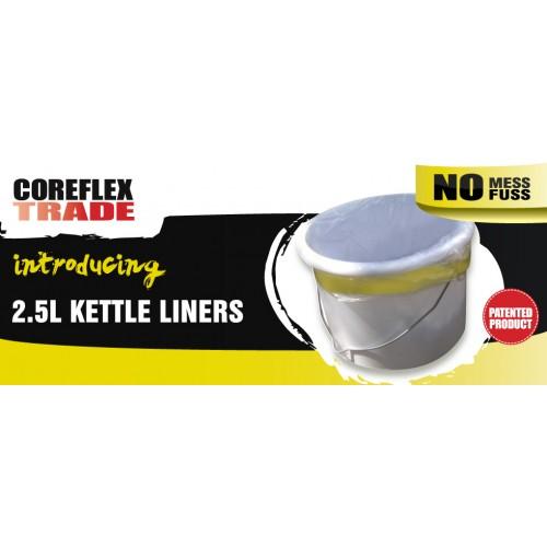 Coreflex 2.5L Paint Kettle Liners 8pk