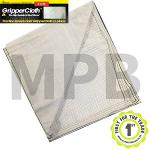 Gripper Cloth Slip Resistant Dust Sheet 3ft x 24ft (Staircase)