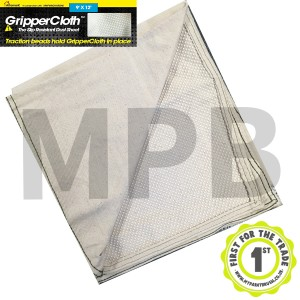 Gripper Cloth Slip Resistant Dust Sheet 12ft x 9ft