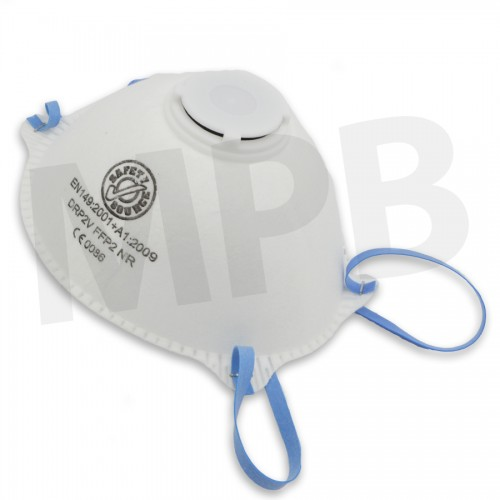 Valved Particulate Dust Mask FFP2 Box Of 10