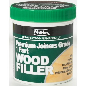 Metolux Premium Joiners Wood Filler (Various Colours) 250ml