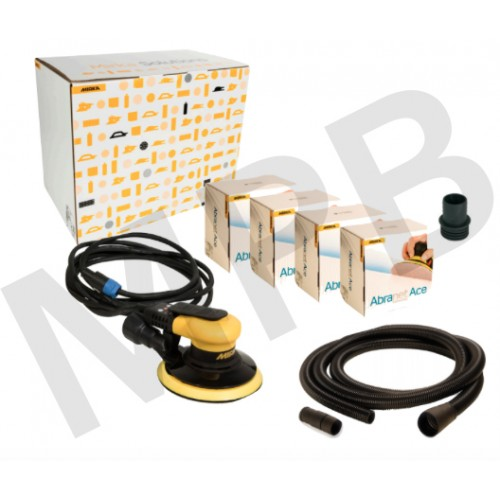 Mirka Ceros 650CV 150mm Solution Kit with Abranet Ace
