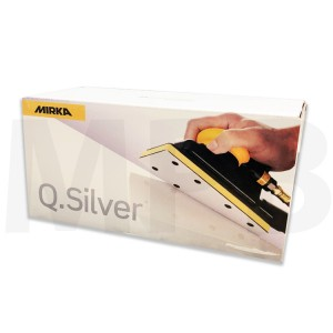 Mirka Q-Silver 81 x 133mm Strips Pack Of 100