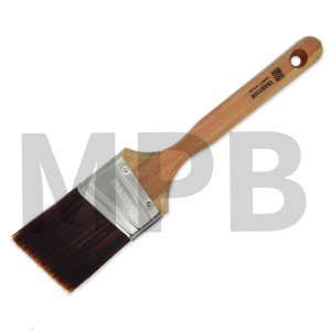 "Nour Tradition Firm Flex 2.5"" Angle Cut Brush"