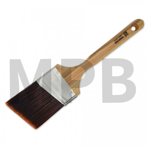 "Nour Tradition Firm Flex 3"" Angle Cut Brush"