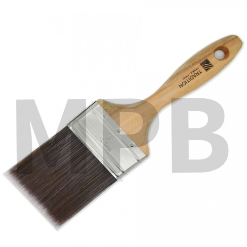 "Nour Tradition 3"" Straight Cut Brush"