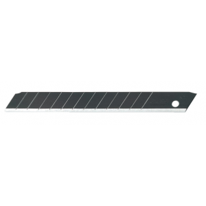 Olfa Excel Black Ultra Sharp Snap Off Blades 9mm (Pack Of 10)