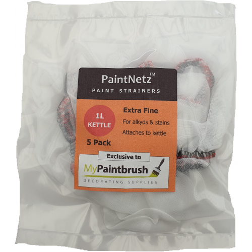 PaintNetz 1L Kettle Paint Strainer Extra-Fine 5 Pack