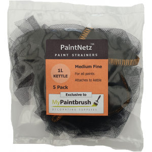 PaintNetz 1L Kettle Paint Strainer Medium-Fine 5 Pack