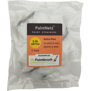 PaintNetz 2.5L Kettle & Hopper Paint Strainer Extra-Fine 5 Pack