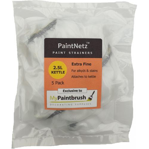 PaintNetz 2.5L Kettle & Hopper Paint Strainer Extra-Fine 5 Pack