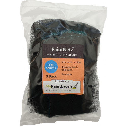 PaintNetz 25L Scuttle Paint Strainer Medium-Fine 5 Pack