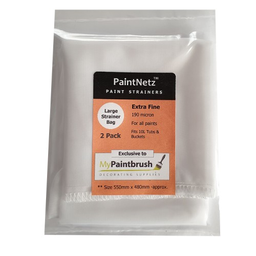 PaintNetz Strainer Bag For 10L Tubs & Buckets 2 Pack