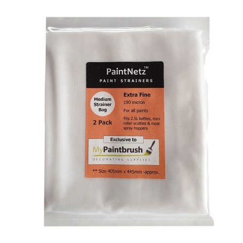 PaintNetz Strainer Bag For 2.5L Kettle & Hopper 2 Pack