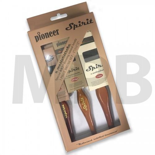 Pioneer Spirit Professional Bristle Brush Set of 3