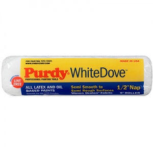 "Purdy 12"" White Dove 3/8"" Nap"