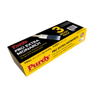 Purdy Pro Extra Monarch 3 Pack PEX1