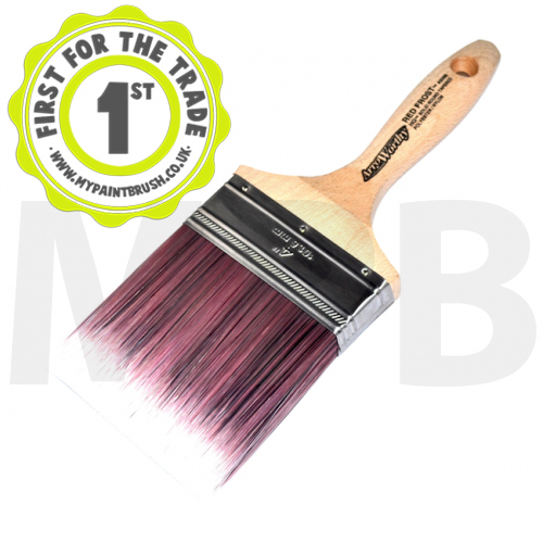 """Arroworthy Red Frost Square End Wall Brush 4"""""""