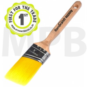 "Arroworthy Rembrandt Semi Oval Angular Sash 2"" Paint Brush"