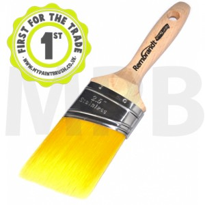 "Arroworthy Rembrandt Semi Oval Angle Beaver Tail 2.5""  Paint Brush"
