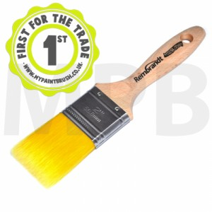 "Arroworthy Rembrandt Straight Cut Beaver Tail 2"" Paint Brush"