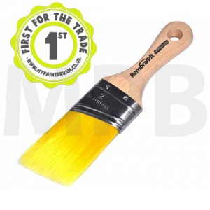 "Arroworthy Rembrandt Stubby Angular Sash 2"" Paint Brush"