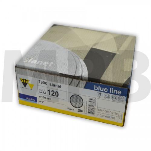 Sia 7900 Sianet 150mm Sanding Discs Pack Of 50