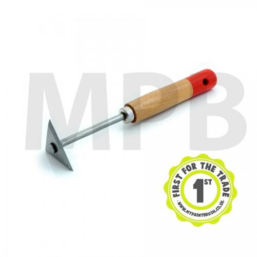 Staalmeester Tool Triangular 8cm Paint Scraper