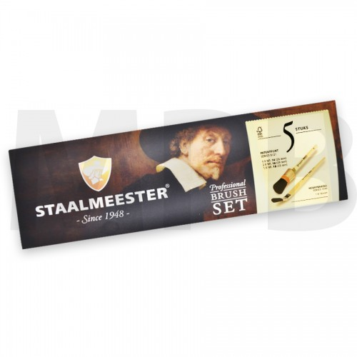 Staalmeester Bristle Set 5 Pack