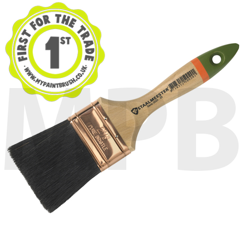 "Staalmeester Bristle 1"" Flat Paint Brush"