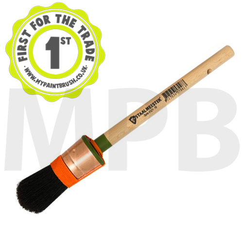 Staalmeester Bristle Round Sash 14 (26mm)