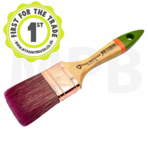 "Staalmeester 1"" Flat Paint Brush"