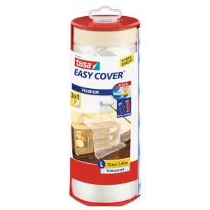 Tesa Easy Cover Dispenser & Film 1400mm x 33m