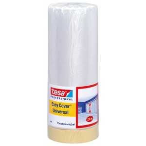 Tesa Easy Cover Masking Film 2600mm x 17m