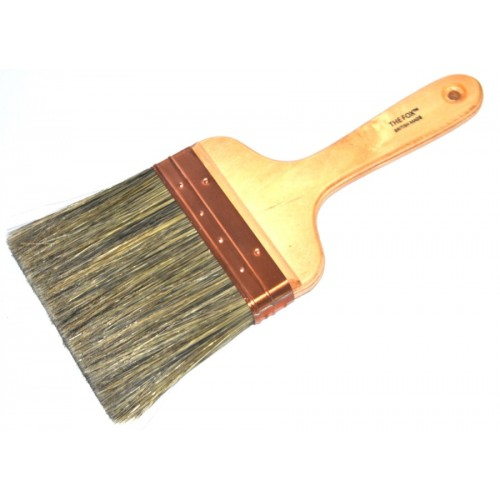"The Fox Copper Bound 5"" Wall Brush"