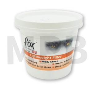 The Fox Lightweight Filler 500ml
