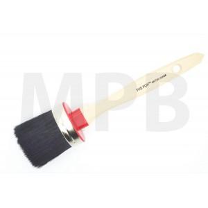 The Fox Chalk & Wax Black Bristle Brush Medium